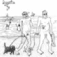 chloe breil dupont, chloë breil dupont, breil dupont, illustration, art, artiste, artist, diva and dogs, villa belleville