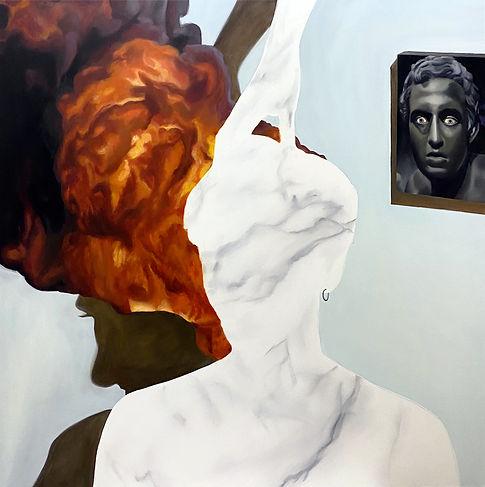 Un mètre plus près, chloë breil-dupont, oil painting