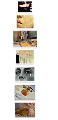 cassette, chloë breil-dupont, oil painting