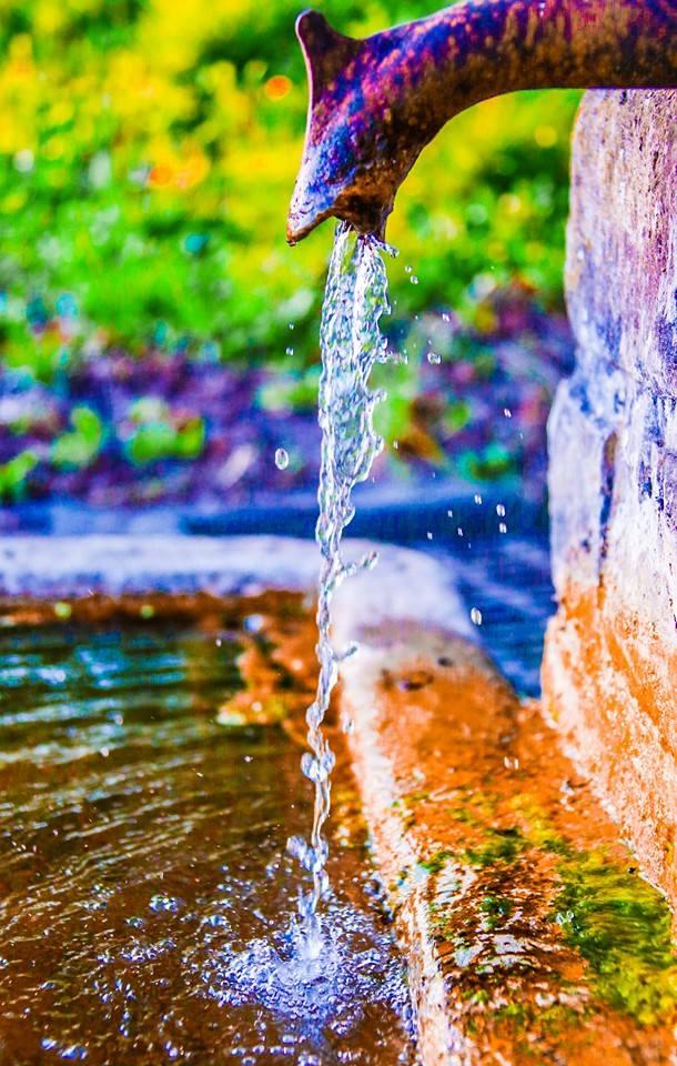 un peu d'eau... un peu de vie