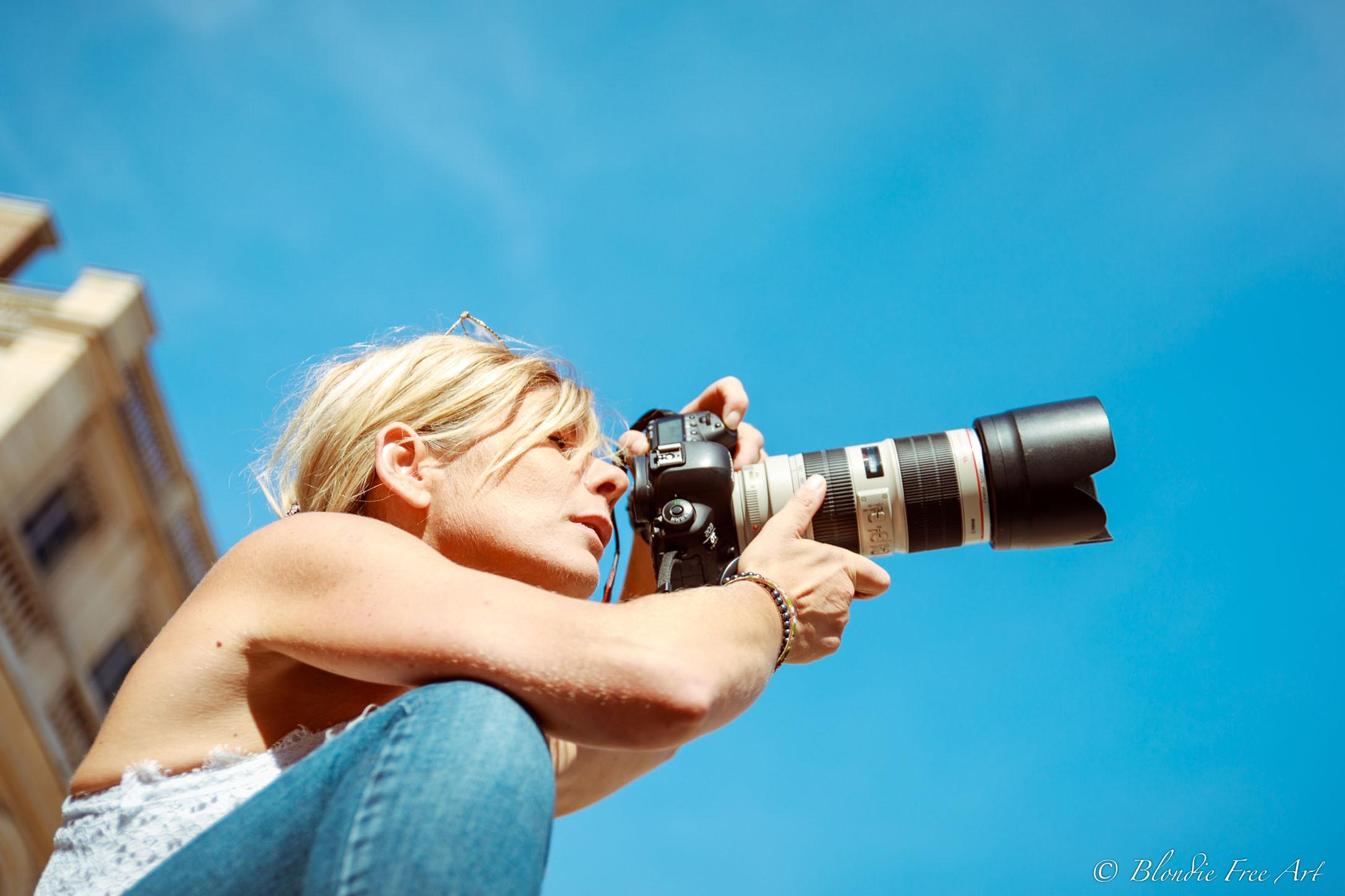 Shooting Photo en plein air