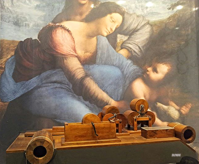 Exposition Léonard de Vincy