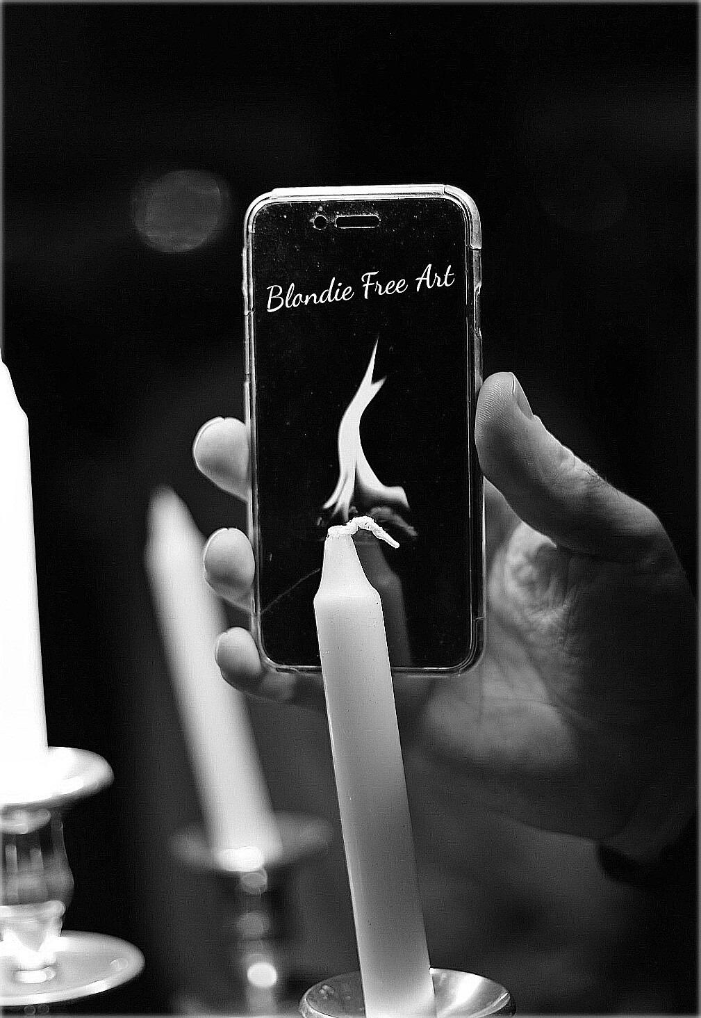 La flamme d'Abdel.