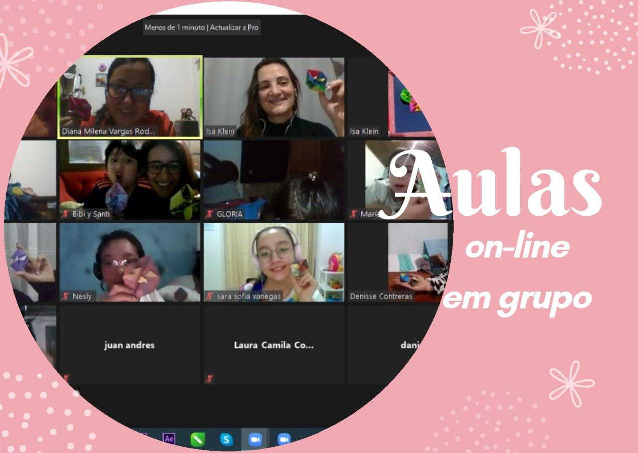 Aulas On-line Em Grupo