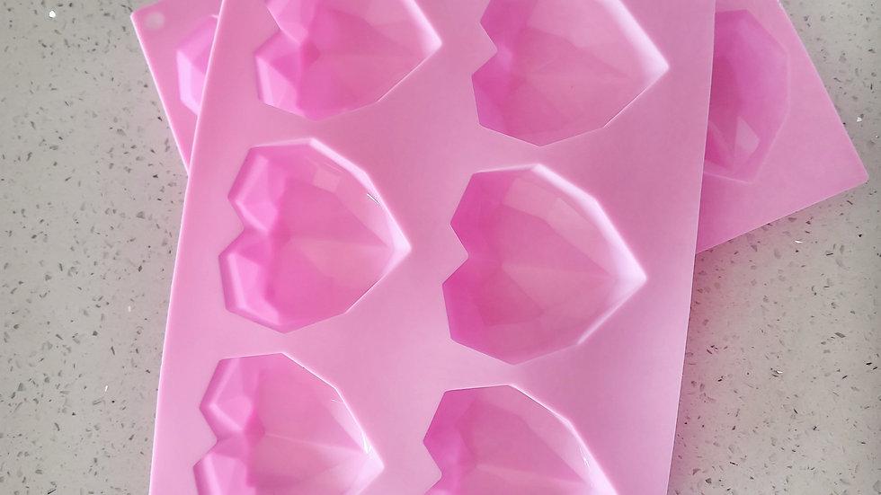 Silicone Heart Bomb Mold