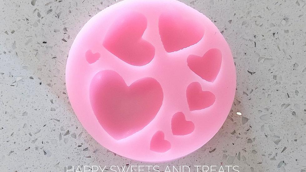 Silicone Heart Mold