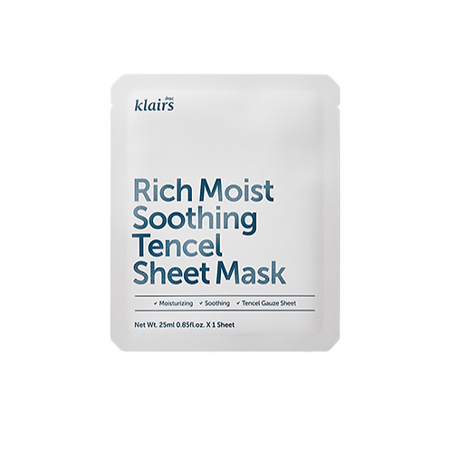 Klairs Rich Moist Soothing Tencel Sheet Mask 1 sheet