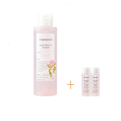 Mamonde Rose Water Toner 250 ml + 25ml 2ea