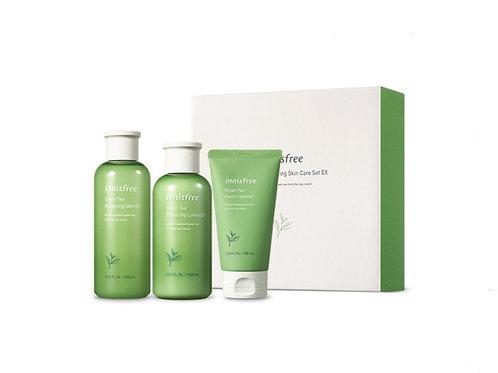 Innisfree Green Tea Balancing Skin Care Set EX
