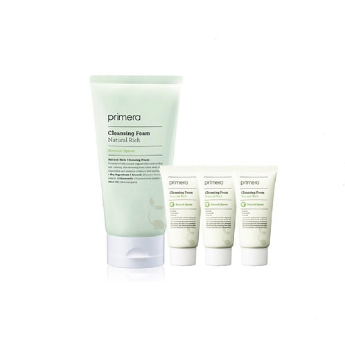 primera Cleansing Foam 250 ml + 30ml 3ea