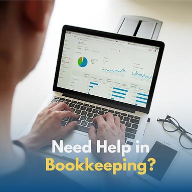 need help in bookkeeping