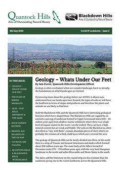 Covid 19 Lockdown Newsletter - Issue 2 (