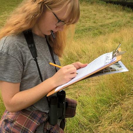 Gold Duke of Edinburgh Volunteering - Millie's journey with the AONB begins
