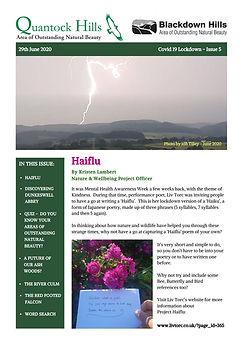 Covid 19 Lockdown Newsletter - Issue 5 (