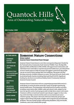 Autumn 2020 Newsletter - Issue 8 (Front