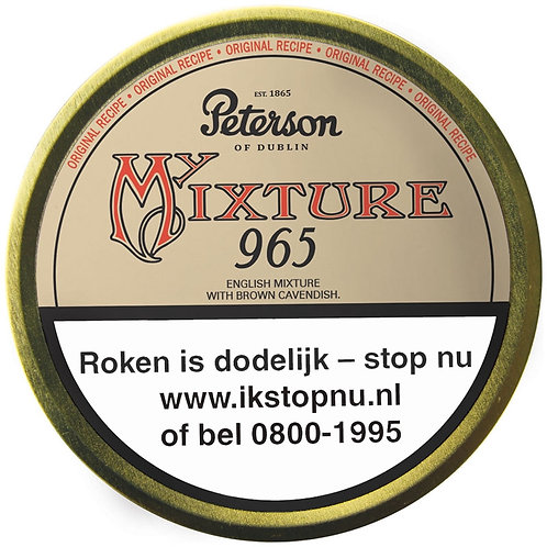 Peterson my mixture 965 tin 50 gr.