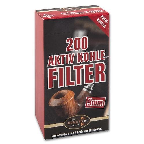 Ermuri 9 mm filters koolstof