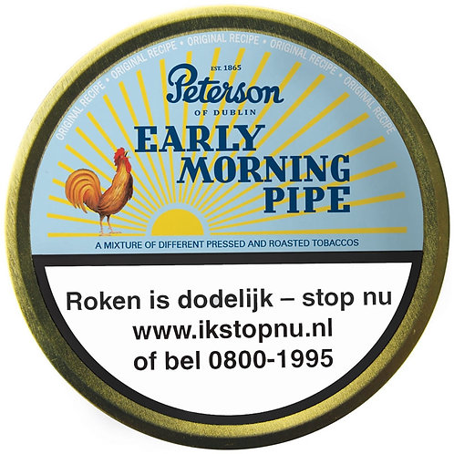 Peterson early morning tin 50 gr.