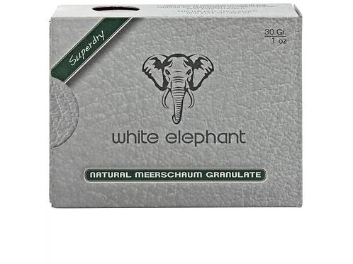 White elephant granulate meerschuim 30gr.