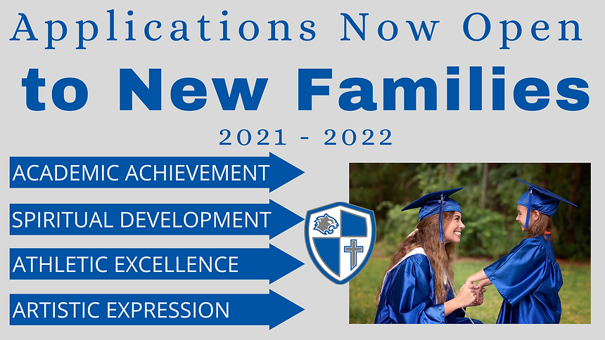 Applications Now open to New Families fo