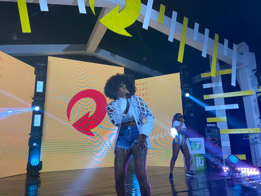 Dama representou em Live #MisturaPerfeitaSkol