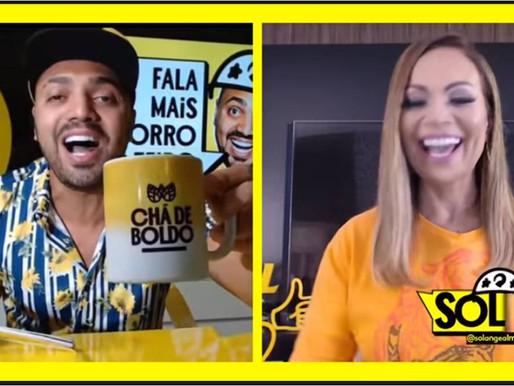 Sol Almeida faz revelações a Tirulipa em vídeo no perfil da Skol