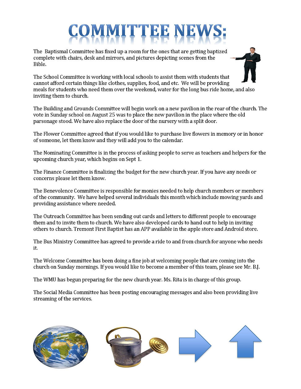 tremont first newsletter september 2019_