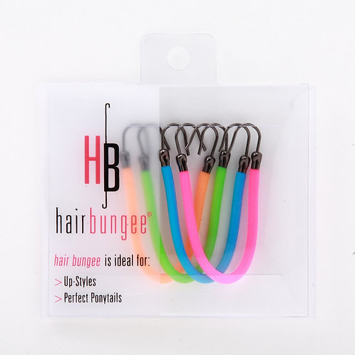 Hair Bungee Silicone CANDY (4 pack)