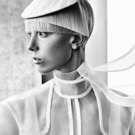 Pavel Okhapkin's collection // Russian Hairdressing Awards 2017