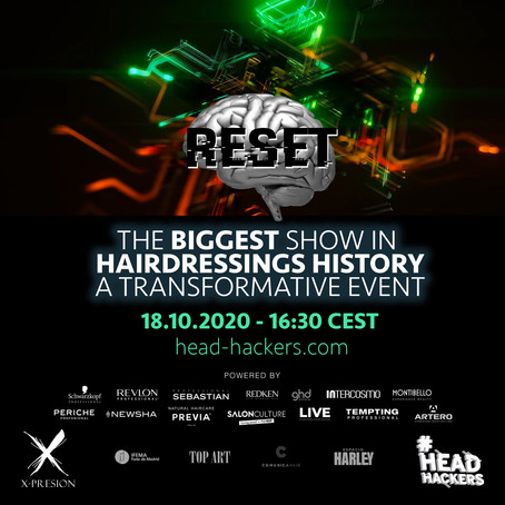 RESET   //  Transformative Event by X-PRESION LIVE // MONDAY 19TH 1:30AM SYD TIME