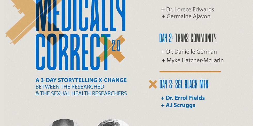 Medically Correct: Researchers X Same-Gender-Loving Black Men