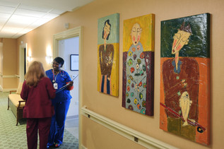Portraits placed at Park Springs Continuing Care Retirement Community