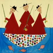 Fishing Monks