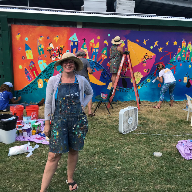 Community project organizor- Stephanie George
