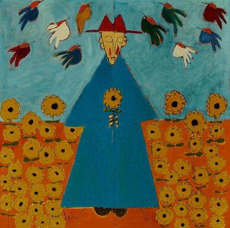 William Guadalupé and His Birds