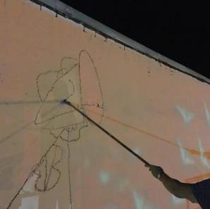 night sketching of Madame Eve