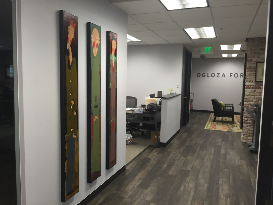 Courting Couples and Monks placed at Ogloza Fortney law office