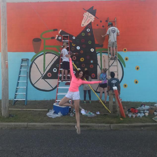 Ballerina and Revolution of Joy