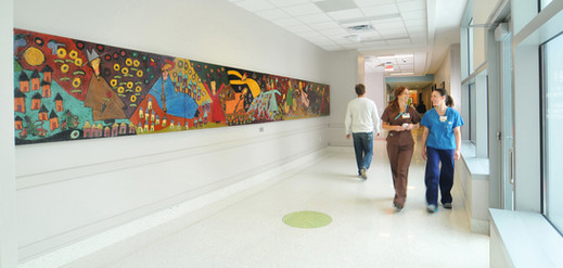mural placed in Children's of Alabama hospital