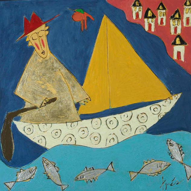 Sailing Monk