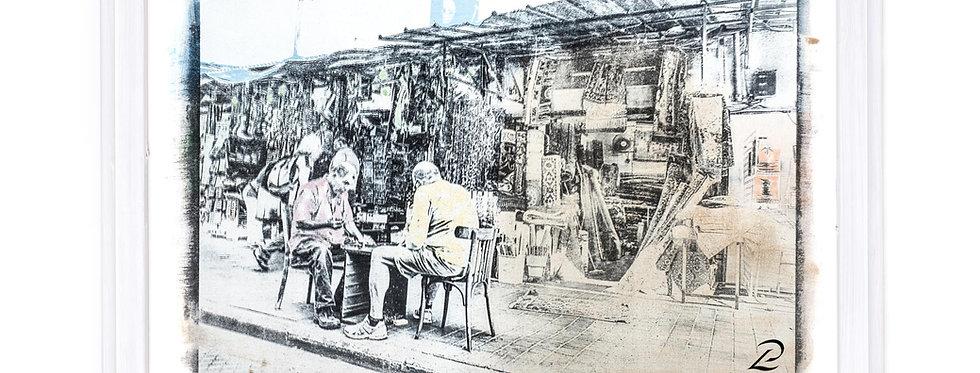 Titel: Backgammon, Jaffa, Israel