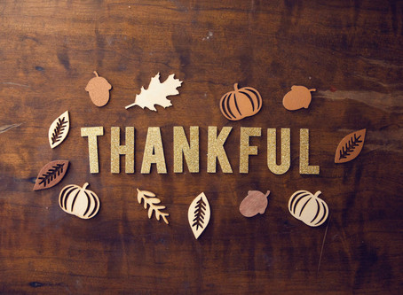 Being Thankful in All Things