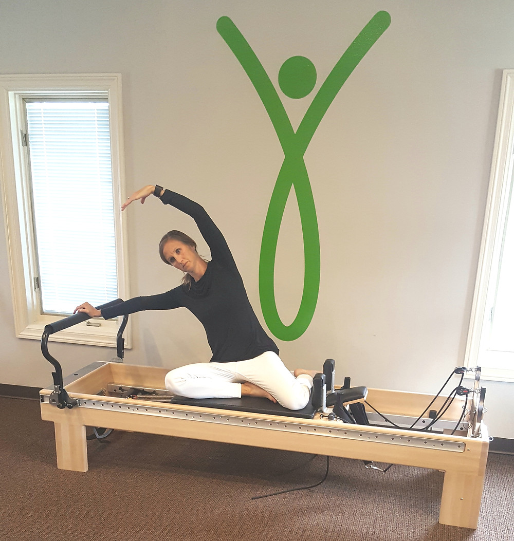 Stretching on the Pilates Reformer