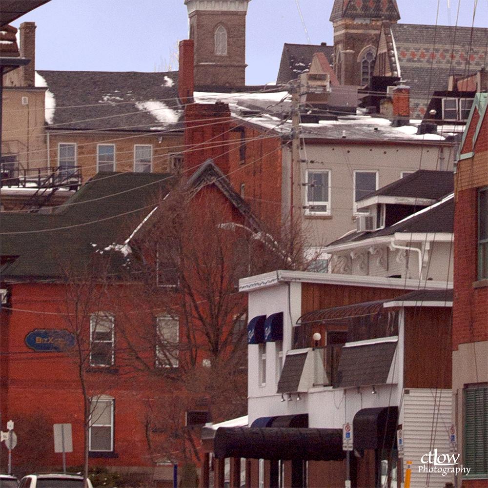 Broad Street from Blockhouse Island, Brockville, Ontario
