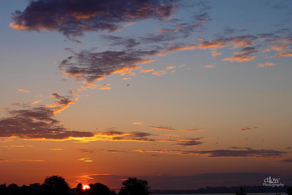 Canada Day daybreak Prescott