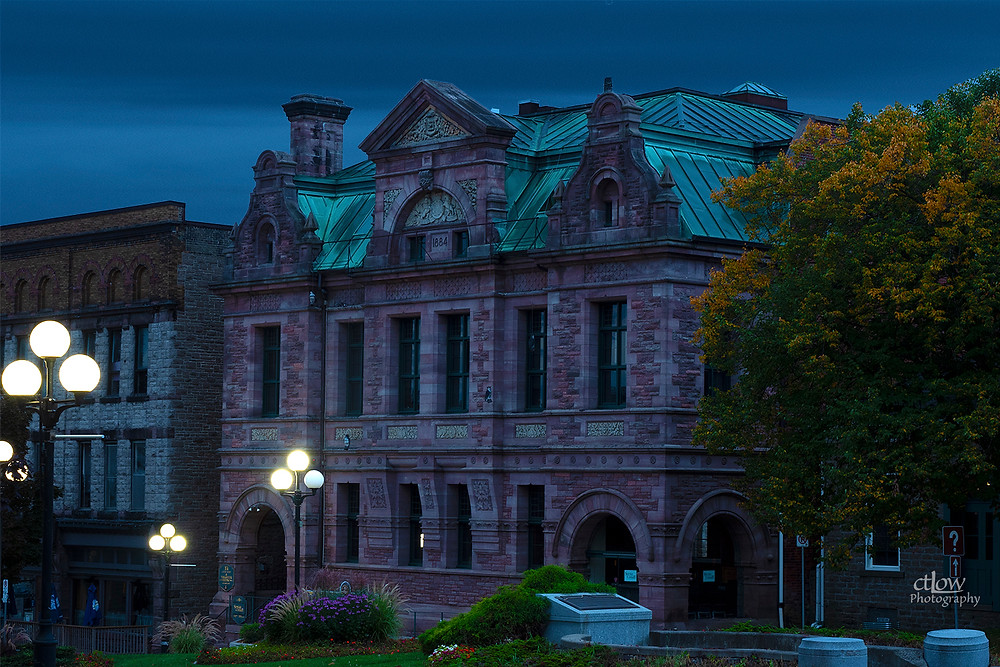 Thomas Fuller Building Brockville Ontario dawn
