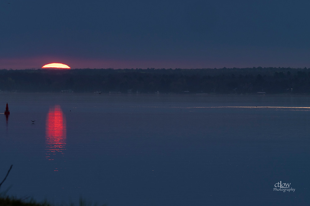 First light, St. Lawrence River