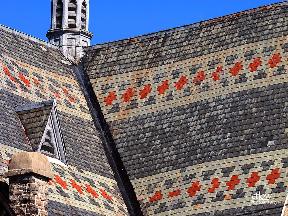 First Baptist Church roof