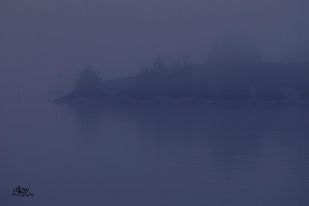 1000 Islands island fog navigation beacon
