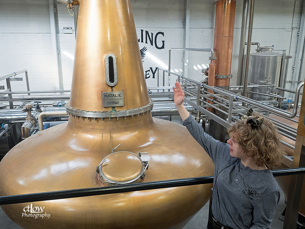 Teeling tour-guide Tracy